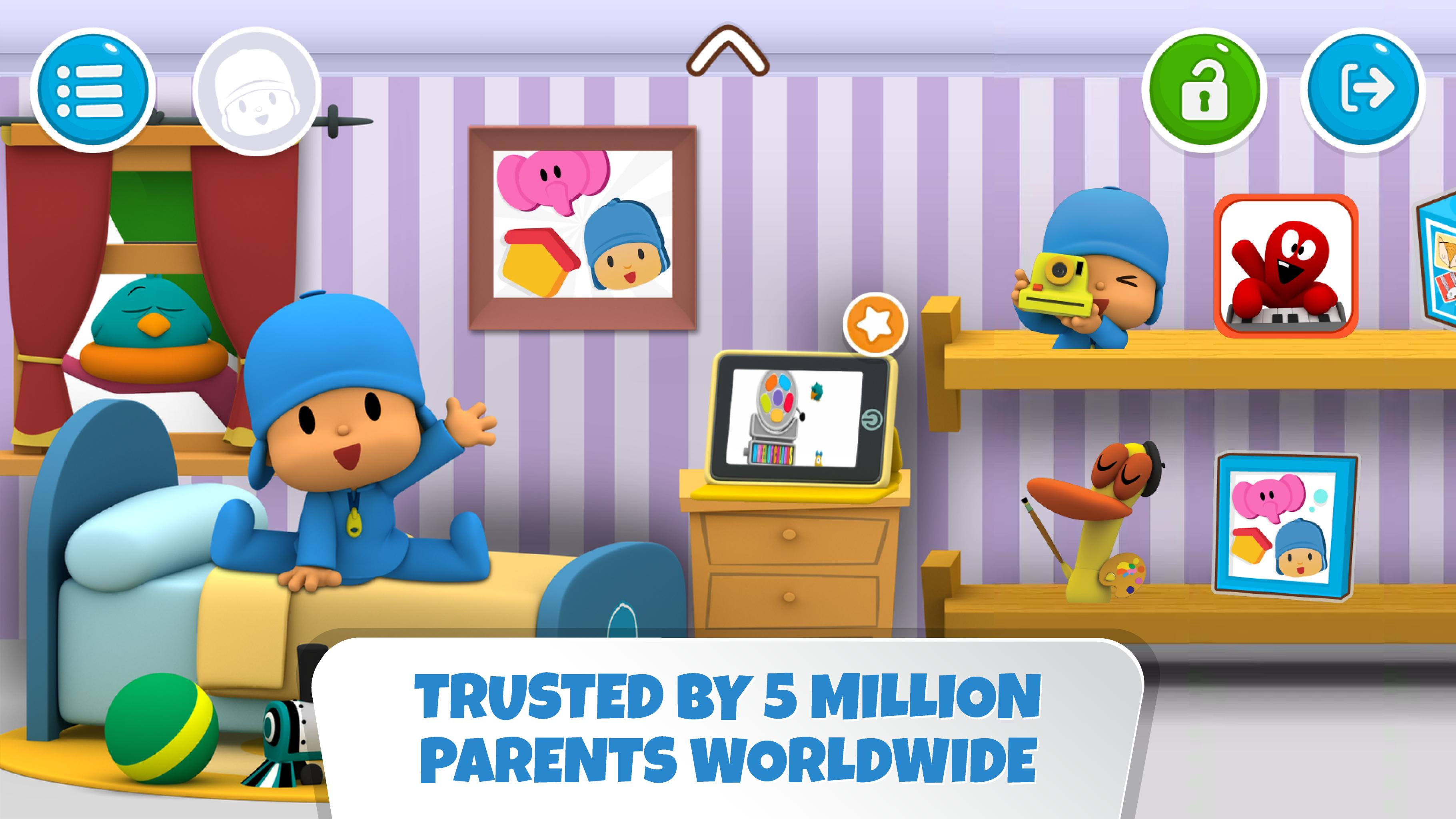 Pocoyo House best videos and apps for kids 3.1.3 Screenshot 9