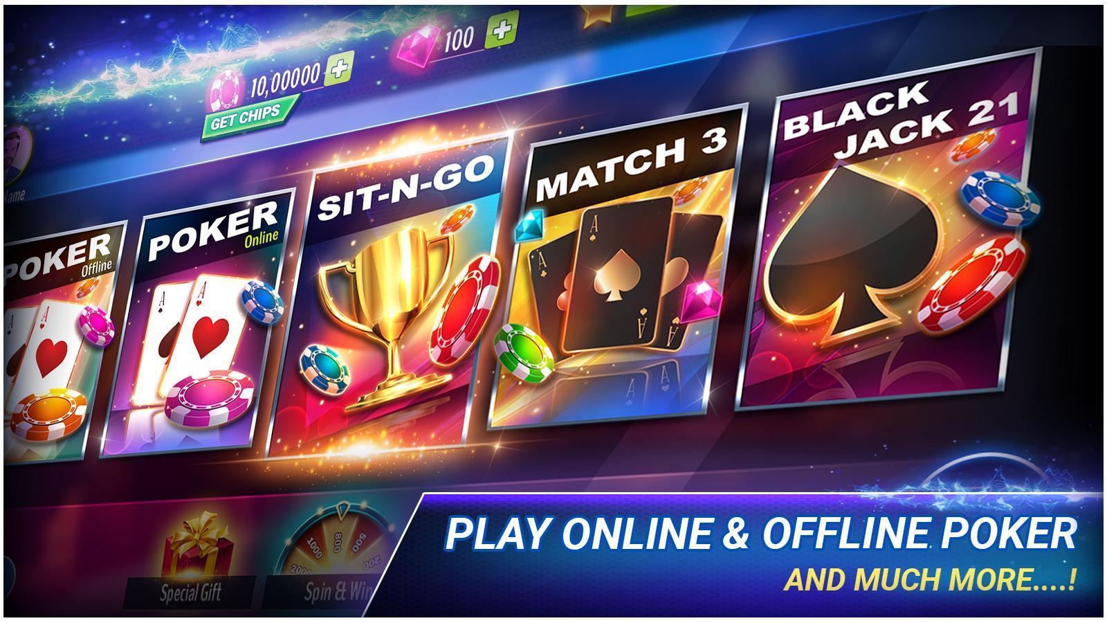 Poker Offline 3.9.4 Screenshot 1
