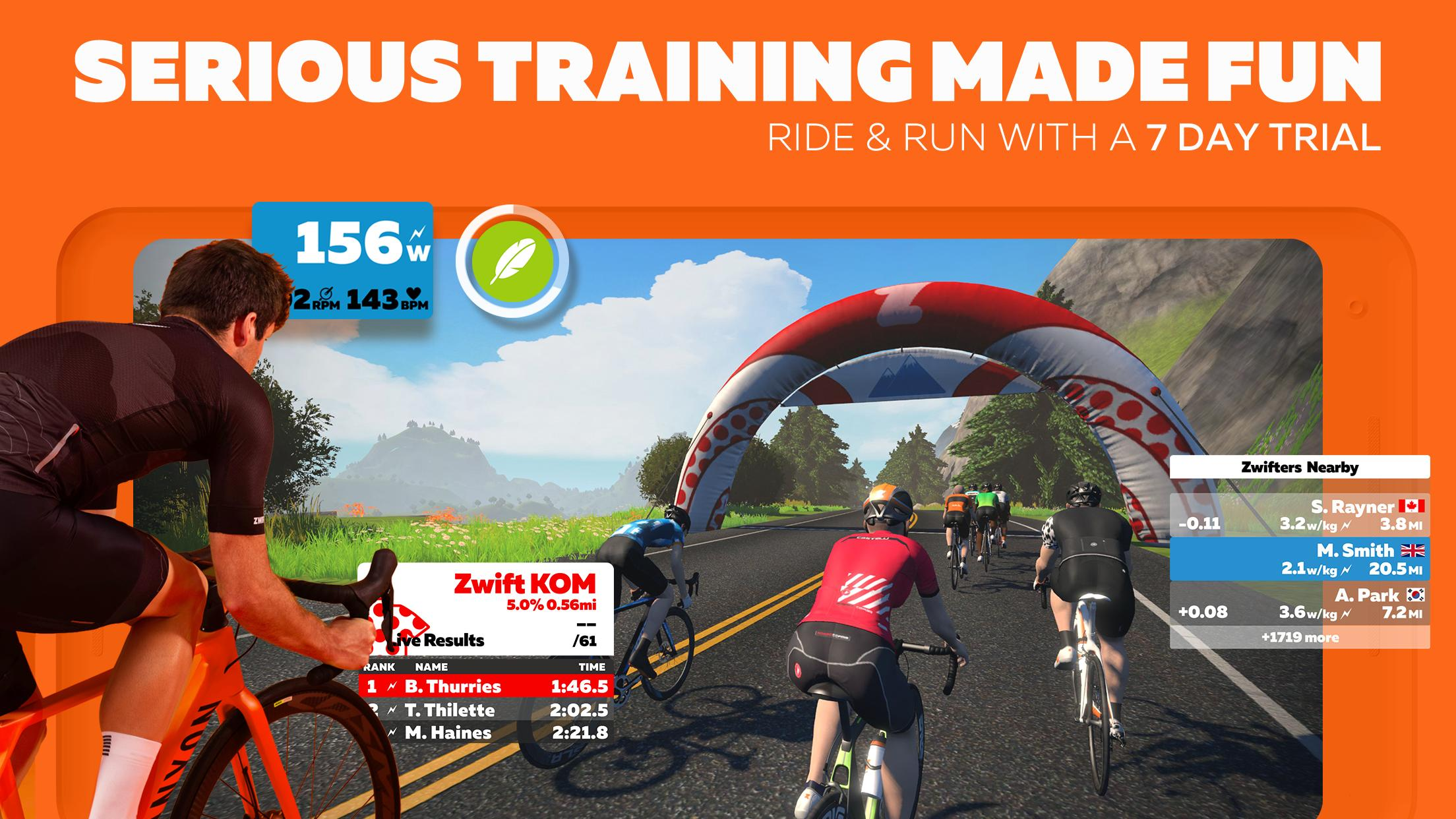 Zwift 1.0.44414 Screenshot 1