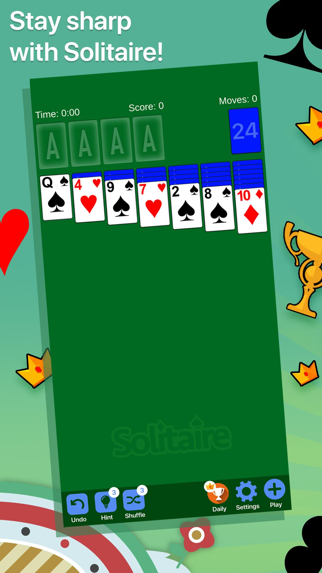 Solitaire 8.4.1 Screenshot 1