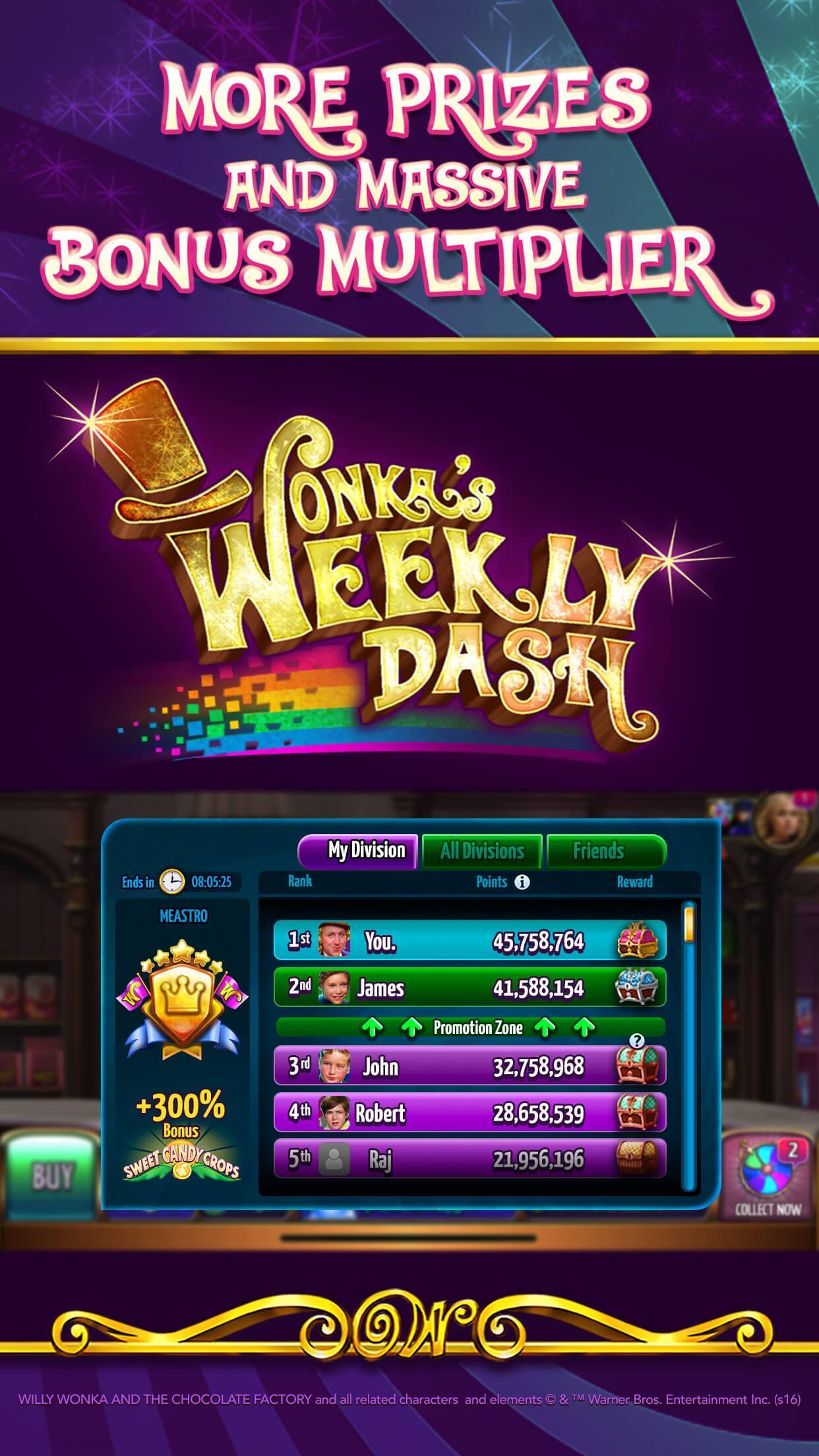 Willy Wonka Slots Free Casino 100.0.964 Screenshot 9
